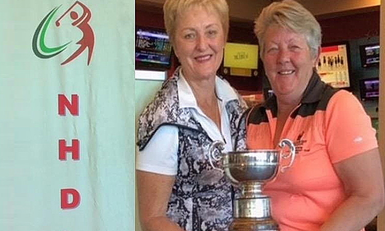 2018  Winning Team: Nelson Bay - Jenny Frost & Di Moon - 160 Nett