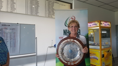 Denise Collins wins Vet's Salver