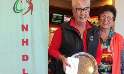 Lynne Walker (Belmont) Div 3 scratch stableford winner at the Annual Amateur Tournament